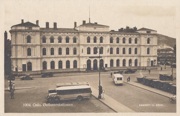 Oslo. Østbanestationen.