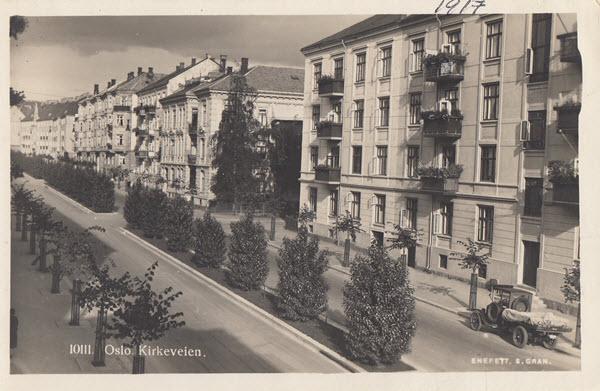 Oslo. Kirkeveien.
