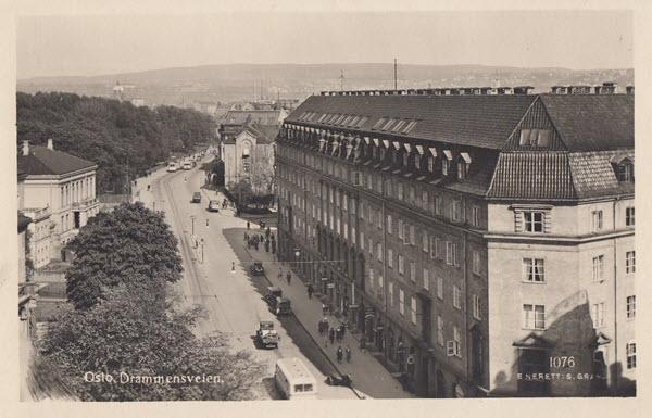 Oslo. Drammensveien.