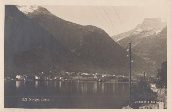 Norge. Loen.