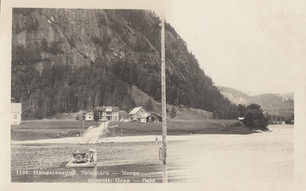 Haugsjaasund, Telemark - Norge