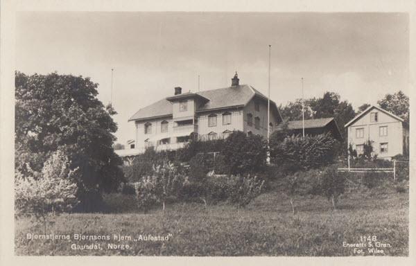Bjørnstjerne Bjørnsons hjem Aulestad Gausdal, Norge.