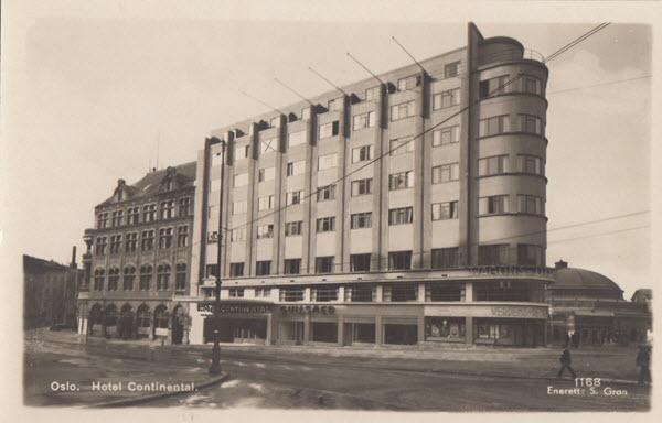 Oslo. Hotel Continental.