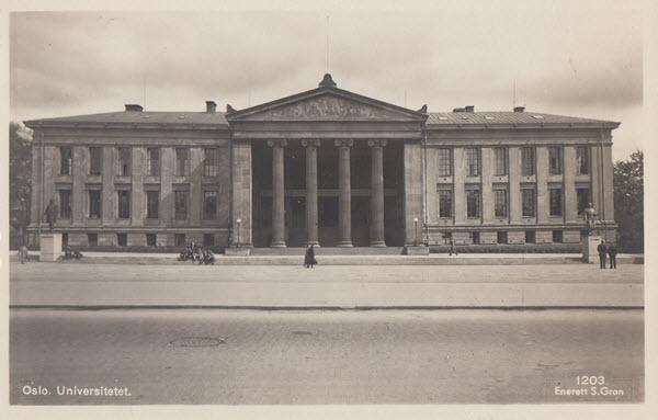 Oslo. Universitetet.
