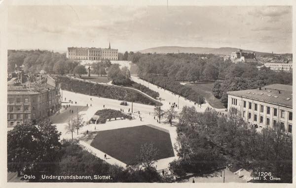 Oslo Undergrunnsbanen, Slottet
