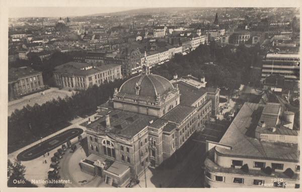 Oslo. Nationalteatret.