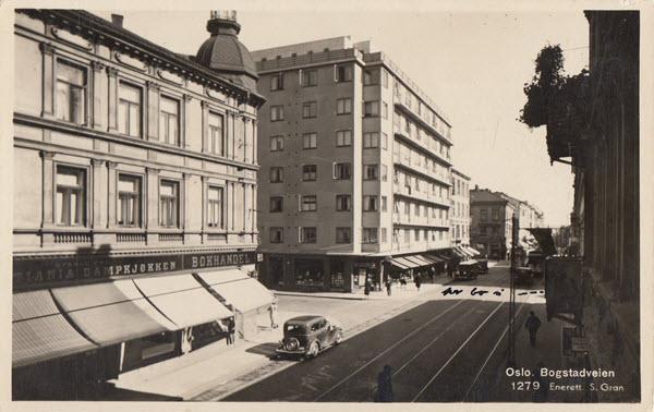 Oslo. Bogstadveien
