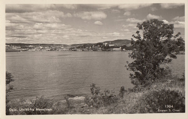 Oslo. Utsikt fra Hovedøen.