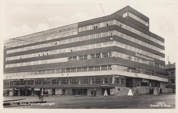 Oslo. Odd Fellowbygningen
