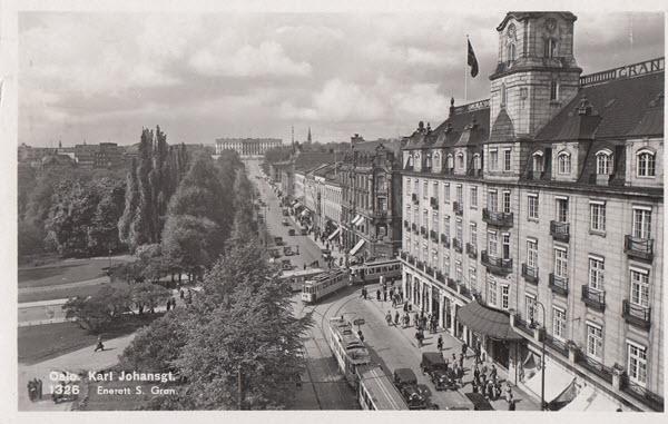 Oslo. Karl Johansgt.