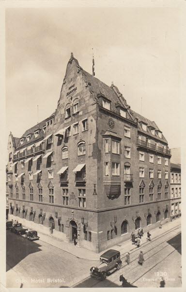 Oslo. Hotel Bristol.
