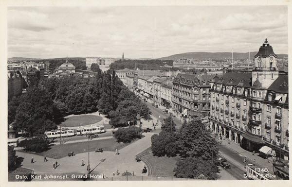Oslo. Karl Johansgt. Grand Hotell.