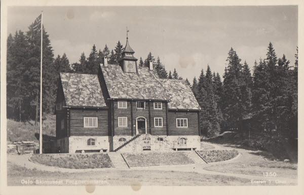 Oslo. Skimuseet Frognersæteren.