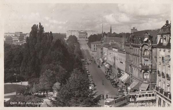 Oslo. Karl Johansgate.