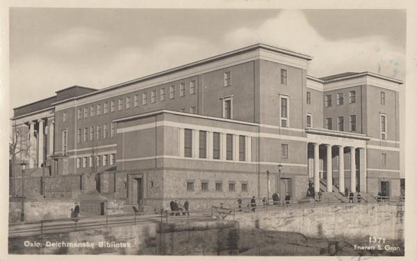 Oslo. Deichmanske Bibliotek.