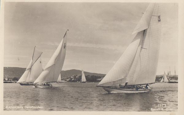 Kappseilas Oslofjorden.