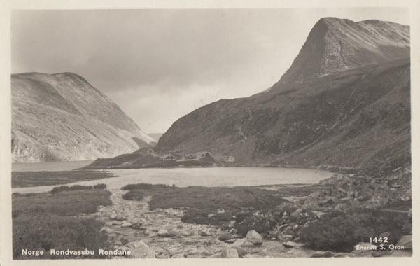 Norge. Rondvassbu Rondane.