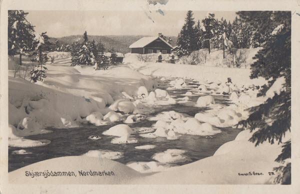 Skjærsjödammen, Nordmarken.