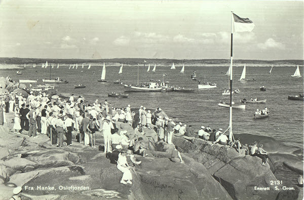 Fra Hankø. Oslofjorden.