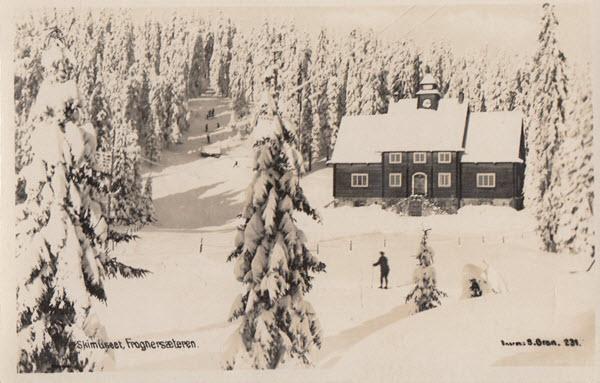 Skimuseet, Frognersæteren.