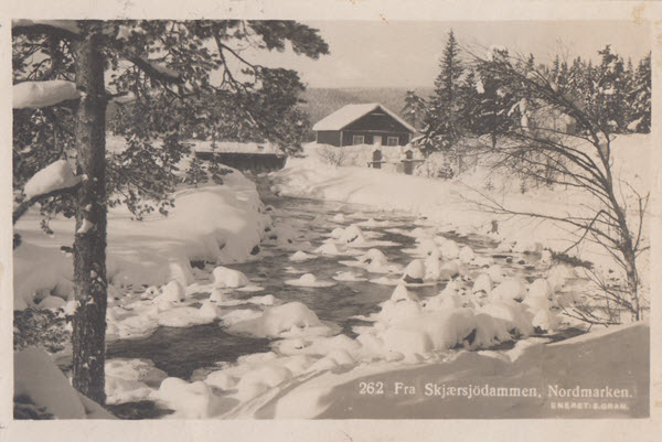 Fra Skjærsjödammen, Nordmarken.