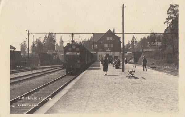Høvik stasjon.