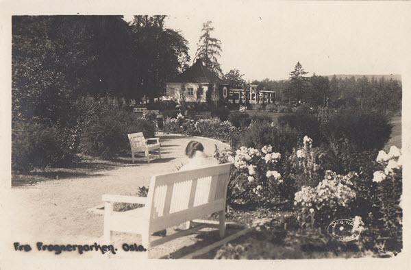 Fra Frognerparken. Oslo.