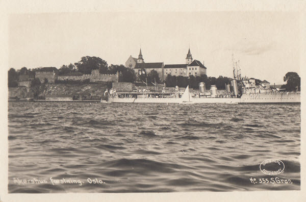 Akershus fæstning. Oslo.