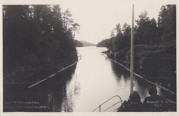 Ved Rödnessjöen Fredrikshaldskanalen
