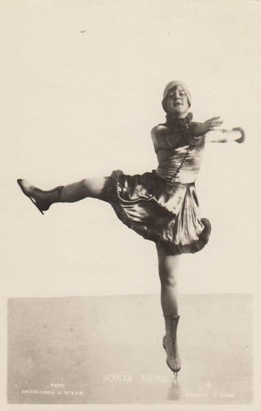 Sonja Henie.