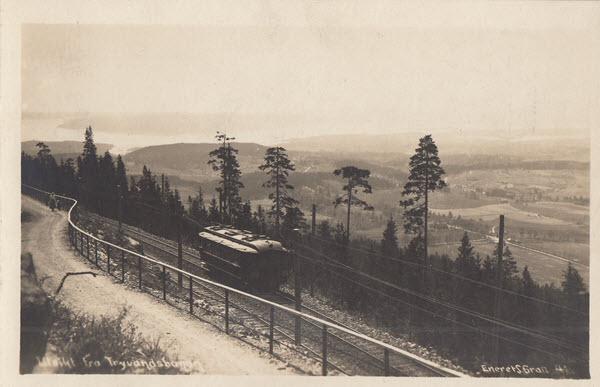Utsikt fra Tryvandsbanen