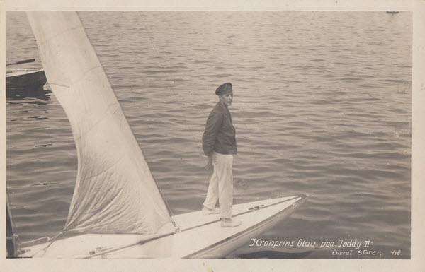 Kronprins Olav paa Teddy II
