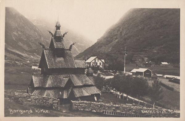 Borgund kirke.