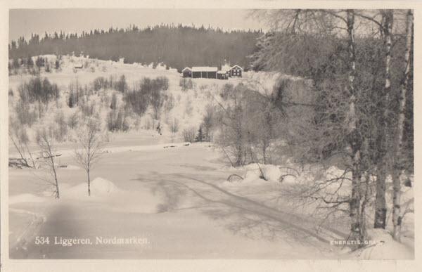 Liggeren, Nordmarken.