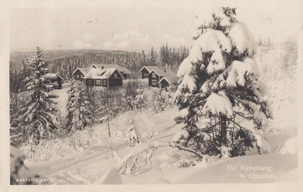 Kamphaug. Nordmarken.