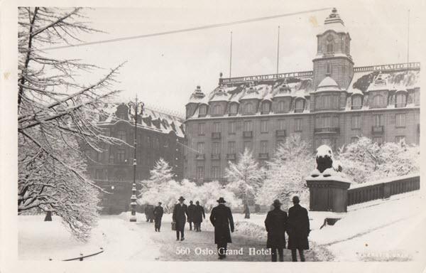 Oslo. Grand Hotel.