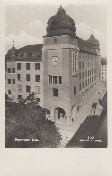 Posthuset, Oslo.