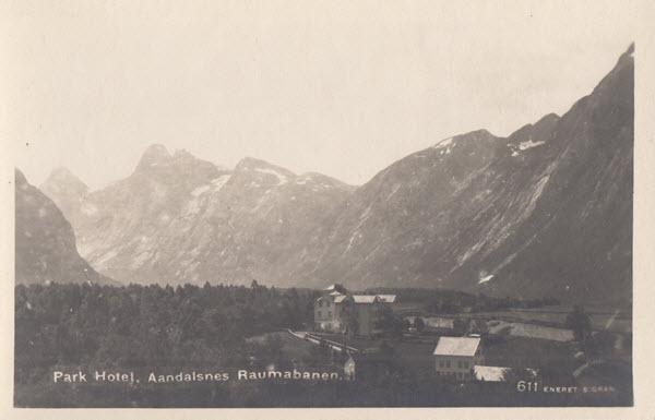 Park Hotel, Aandalsnes Raumabanen.