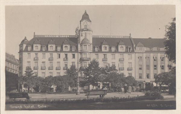 Grand hotel. Oslo
