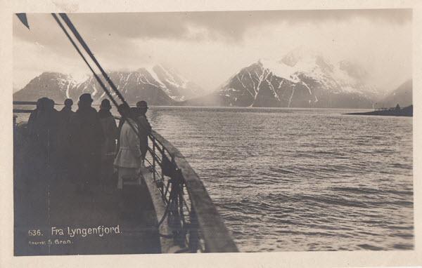 Fra Lyngenfjord.