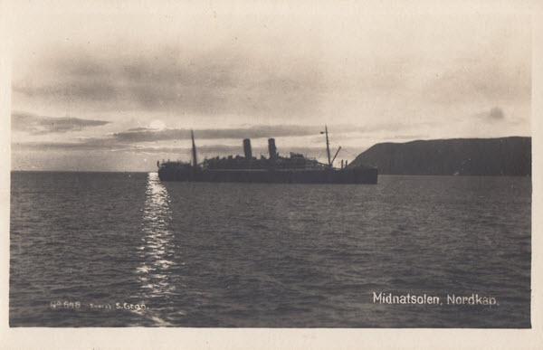 Midnatsolen, Nordkap.