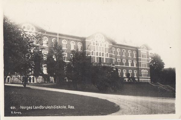 Norges Landbrukshöiskole, Aas.