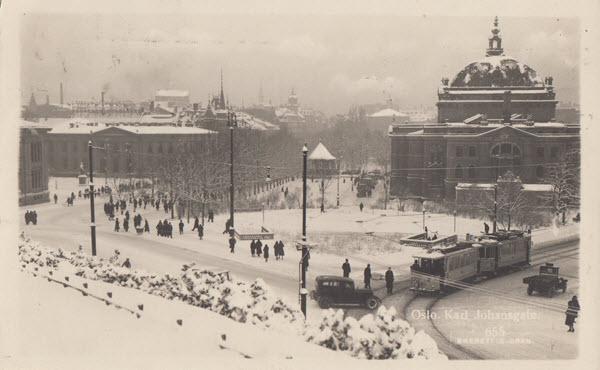 Oslo Karl Johansgate