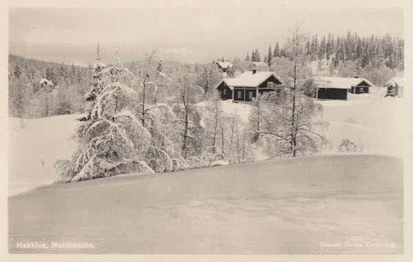 Hakkloa, Nordmarka.