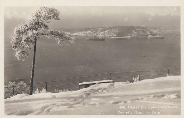 Utsikt fra Sjømannsskolen