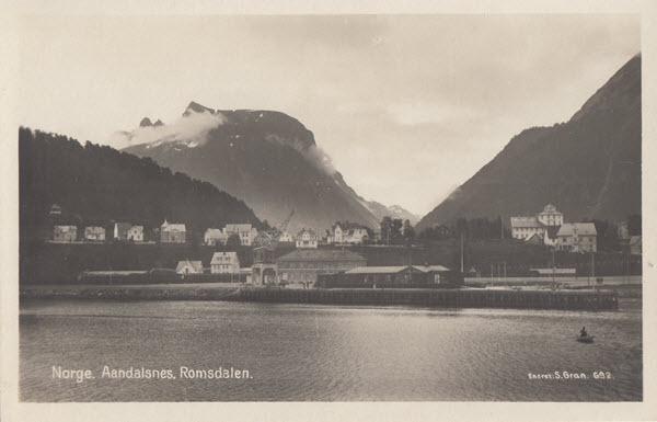 Norge. Aandalsnes. Romsdalen.