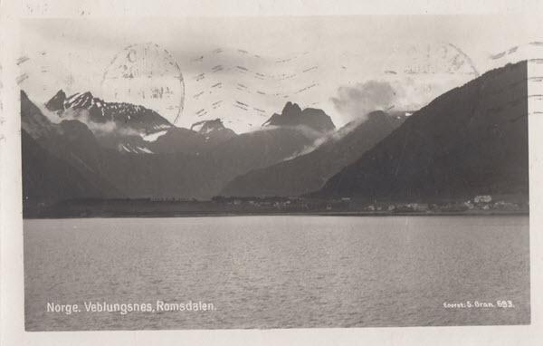 Norge. Veblungsnes, Romsdalen.