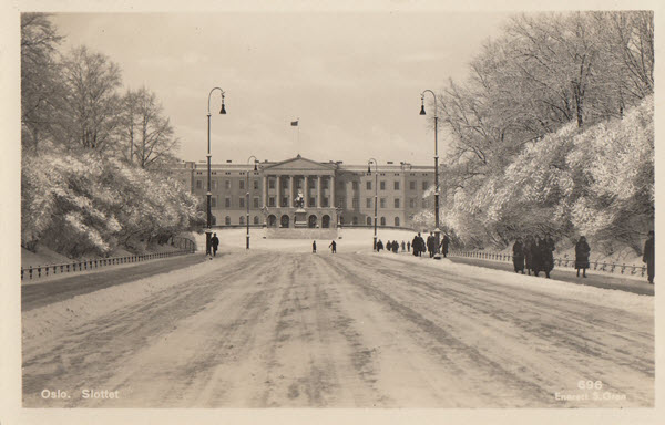 Oslo. Slottet