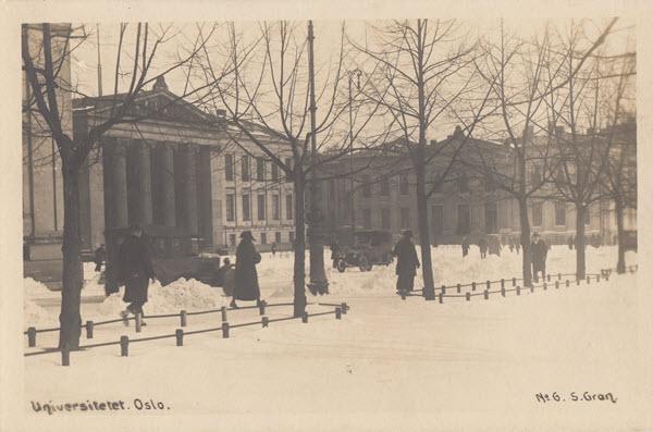 Universitetet. Oslo.