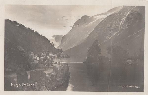 Norge. Fra Loen.